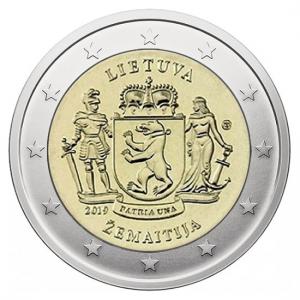 Lithuania 2 Euro 2019 - Žemaitija - COIN ROLL